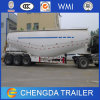 Bulk Cement Power Material Transport Semi Trailer with Air Compressor