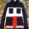 Constrast Hoody Winter Coat Man Padding Jackets with 4 Pockets