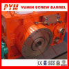 Gearbox for single screw barrel