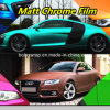 Used for Automobiles & Motorcycles Wrap Stickers Metallic Matte Chrome, Car Wrapping Film