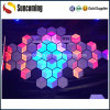 3D Honeycomb Night Club Wall Panel LED Disco Panel Space