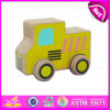 2015 Educational Yellow Wooden Car Toy for Kids, Mini Wooden Toy Car for Children, Baby Toy Make Wooden Toy Car Wholesale W04A111