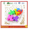 3D Magic Eraser with Puzzle Cube Shape for Student Stationery
