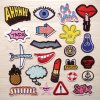 Iron on/Sew on Hot Sale Embroidery Patch for Decoration