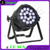 PAR64 18X18W LED Light RGBWA UV 6in1 DMX512 LED PAR