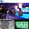 Nightclub Pub Salad Bar Illuminated LED Mobile Bar Counter