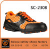 Saicou Leather Police Office Man Shoes Safety Shoes Manufacturer Guangzhou Sport Safety Shoes Sc-2308