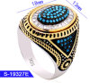New Model Fashion Jewelry 925 Sterling Silver Micro Pave Stone Men Rings for Sale