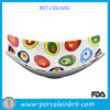 Home Style Colorful Printing Fancy Fruit Bowl