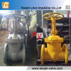 Ghigh Quality Dn100 Russian Standard Wcb Gate Valve Manufacturer in China