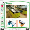 Supermarket Cash Counters with Convey Belt and Length Customized