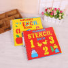 Spiral Bound Shaped Hardcover Children Book with Stickers Printing