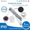 All in One Solar LED Street Light 100W Outdoor IP65 CRI>80 LED Street Light