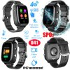 4G/Lte Body Temperature Senior GPS Tracker Watch with Fall Down Alarm D41