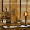 25mm/35mm/50mm Window Venetian Horizental Basswood Blinds (SGD-W-581)