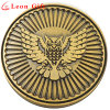 Custom Embossed Logo Antique Gold Metal Souvenir Coins