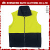 Reflective Safety Yellow Navy Blue Polar Fleece Work Vest