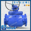 Didtek Oil Industry Wcb Casting Bolt Bonnet Gear Operated Top Entry Ball Valve