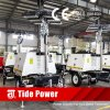 Construction Use Mobile Lighting Tower with 6*400W LED Lamps