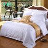 Yrf Cheap Cotton White 300t Jacquard Double Size Bed Sheet