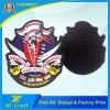 Professional Factory Customized 3D Police Military Airplane Polit PVC Rubber Patch for Souvenir (XF-PT10)