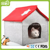 Felt Pet House for Christmas Cat Cave