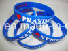 Popular Sport Silicone Wristband with Power Passion