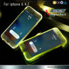 PC TPU Bright Flash Phone Case for iPhone 6