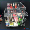 Acrylic Tabletop Rotating Makeup Cosmetic Box & Organizer
