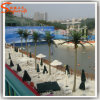 Outdoor Decorative Fiberglass Artificial Coconut Palm Tree