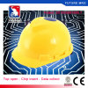 New Style Ai Chip Safety Helmets with Breathable Hole for Industrial Custom