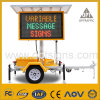 Solar Powered LED Light Road Safety Traffic Sign Vms Trailer