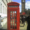 Decoration Sound Insulation British London Telephone Booth for Sale