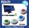 Cheap CE Approved Restaurant Paging System with Display and Buttons