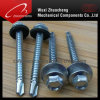 Hex Self Drilling Screws With Rubber Washer (DIN7504)
