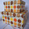 DOT Printing Paper Gift Storage Box Set