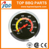Stainless Steel Dial BBQ Charcoal Grill Pit Wood Smoker Temperature Gauge