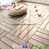 Foshan Patio WPC Interlocking Decking Tile with 300*300mm