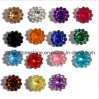 Hot Sale and Very Cheap Price 10 mm Acrylic Sunflower Rhinestone Claw Sew on Rhinestone for Garment (Tp-10mm rhinestone)