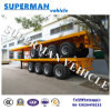 Four Axle Heavy Cargo Semi Truck Trailer