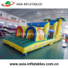 Inflatable 22′ Rock Climb Double Bay Obstacle Slide