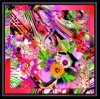 Digital Print Custom Fashion Silk Scarf (F13-0066)