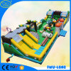 OEM 0.55 mm Pcv Tarpaulin Amusement Park Inflatable Castle