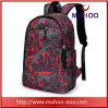 Fashion Black Sports Travel Duffle Backpacks School Bag