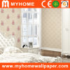 Vinyl Embossed Wall Paper with Flower