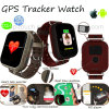 Elderly Colorful Touch Screen Heart Rate GPS Tracker Watch (D28)