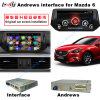 Android 4.4.4 HD 800*480 Quad Core 1.6GHz Nand Flash 16GB for Mazda 6 with Mirror Link, Car Rear Camera