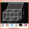 Galvanized or PVC Coated Hexagonal Gabion Wire Mesh