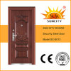 UV-Proof Copper Paint Steel Doors Single