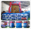 Hot Sale Inflatable Hook & Loop Wall, Cheap Inflatable Bouncer Stick Wall for Sale, Adult Inflatable Hook & Loop Wall B6084